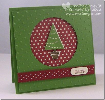 Pennant Parade Christmas Tree full card
